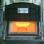 Forno de espera para alumínio