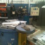 Forno para fundição de alumínio