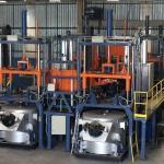 Injetora baixa pressão para roda de alumínio