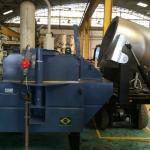Forno elétrico para fundição de alumínio