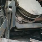 Forno rotativo para fundição de alumínio