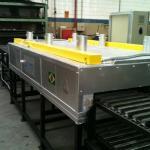 Forno tratamento termico aluminio