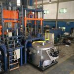 Injetora de alumínio baixa pressão