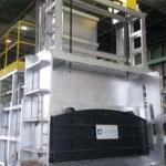 Manutenção de forno para fusão