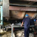 Manutenção de forno a gás