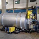 Manutenção forno rotativo