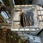 Reforma de forno para alumínio